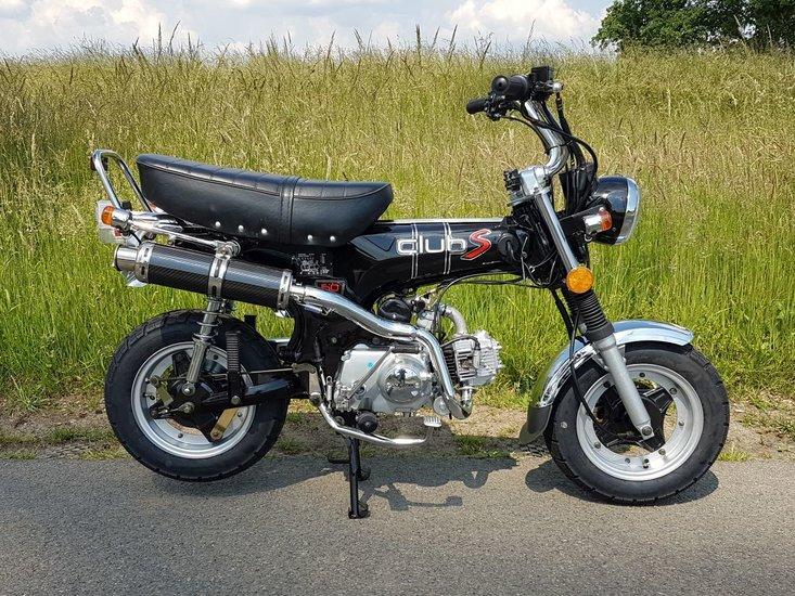 Skymax-Club-S,-50cc,-zwart,-bromfiets