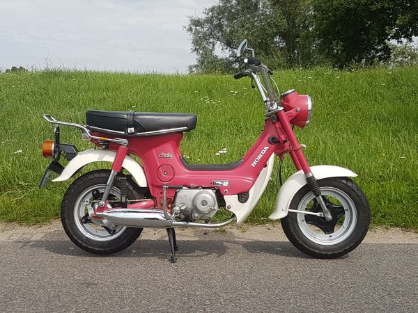 Honda-Chaly,-Roze,-04817-km