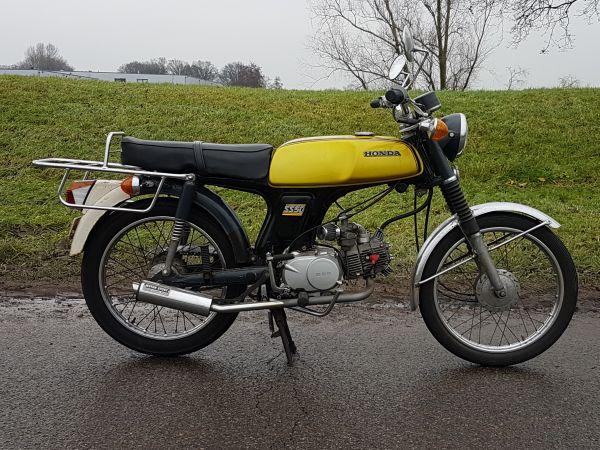 Honda-SS50-Geel-GERESERVEERD!-