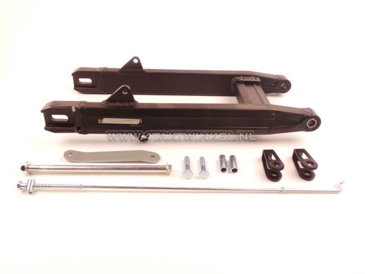 Achterbrug-C50,-SS50,-CD50-aluminium,-dik,-Kepspeed,-+6cm,-zwart