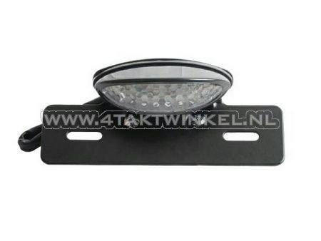 Achterlicht-ovaal,-LED,-zwart