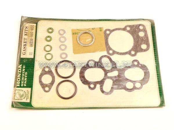 Pakkingset-kop-&-cilinder,-C310S,-C100,-origineel-Honda