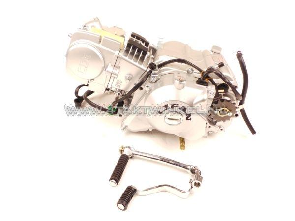 Motorblok,-Lifan,-125cc,-4-bak-handkoppeling-&-startmotor
