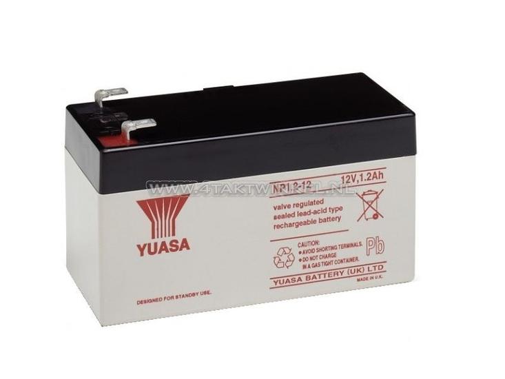 Accu-12-volt-1,2-ampere-gel-Yuasa