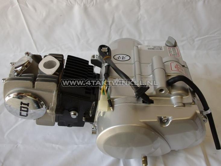 Motorblok,-Lifan,-125cc,-4-bak-handkoppeling,-zilv