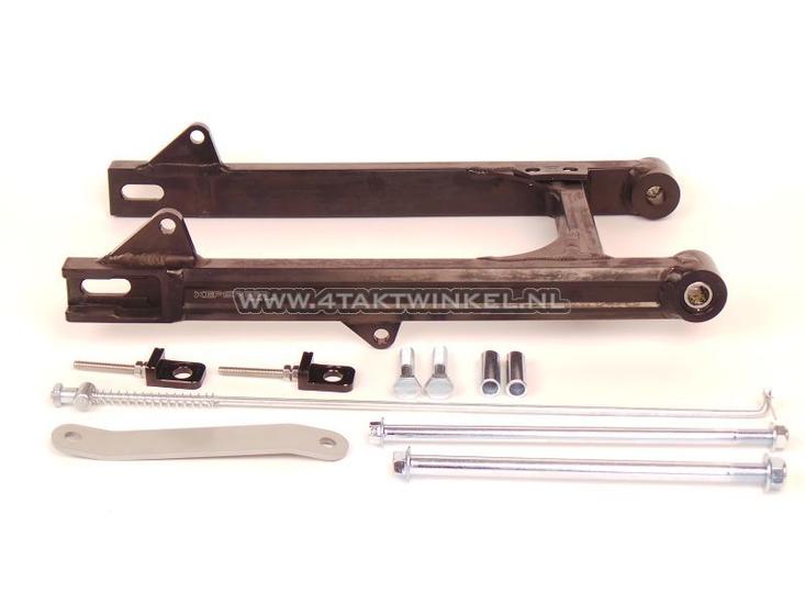 Achterbrug-C50,-SS50,-CD50-aluminium,-Kepspeed,-+2cm,-zwart