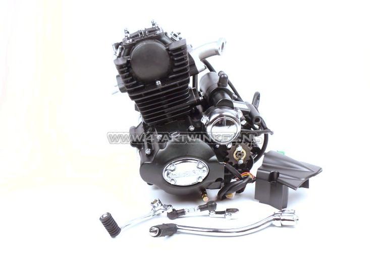 Motorblok,--50cc,-handkoppeling,-Lifan,-4-bak,-staande-cilinder,-met-startmotor