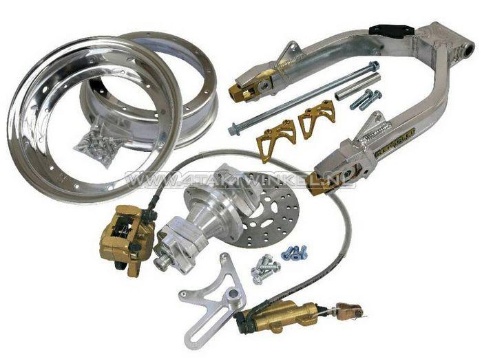 Achterbrug-Dax-aluminium,-Kepspeed,-breed,-ombouwset