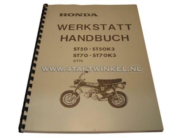 Werkplaatsboek,-Honda-Dax-OT-6-volt