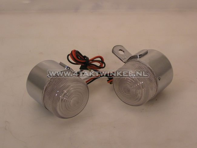 Knipperlicht-set-2-stuks-Dax-old-style,-LED,-wit