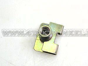 Chokekabel,-C50-OT,-bevestiging-plaatje,-origineel-Honda