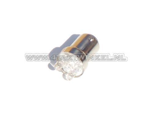 Lamp-achter-duplo-12v-21-5-watt-vervanger-rood-LED,-type-1-BAY15D