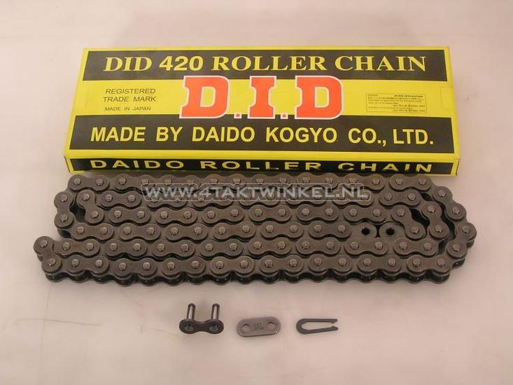 Ketting-420-DID-Japan,-100-schakels