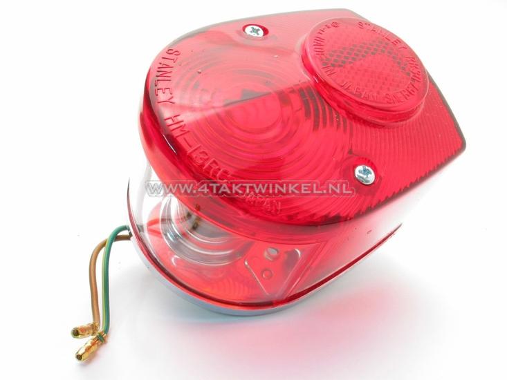 Achterlicht-Dax,-C50-NT-rood,-origineel