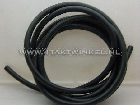 Olie-slang-zwart-7,5mm---13,5mm,-per-meter