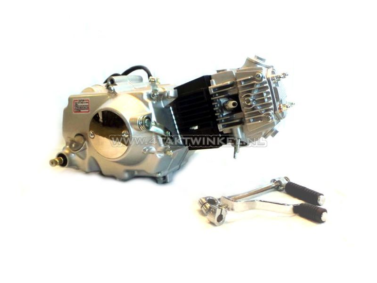 Motorblok,-107cc,-handkoppeling,-Lifan,-4-bak,-zilver