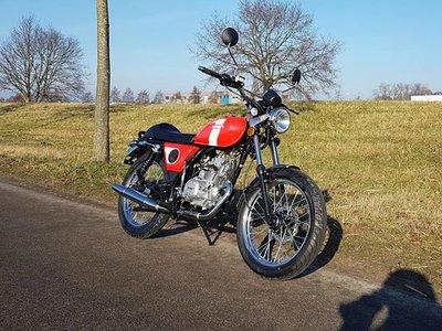 Mash Fifty Rood, 50cc, Euro3