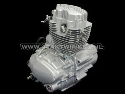 Motorblok, 125cc, handkoppeling, Zhenhua, 5-bak, staande cilinder