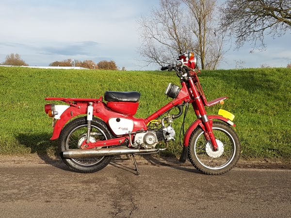 Honda-MD50,-origineel-Honda!-Met-kenteken!
