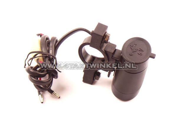 USB-lader-voor-12-volt-brommer