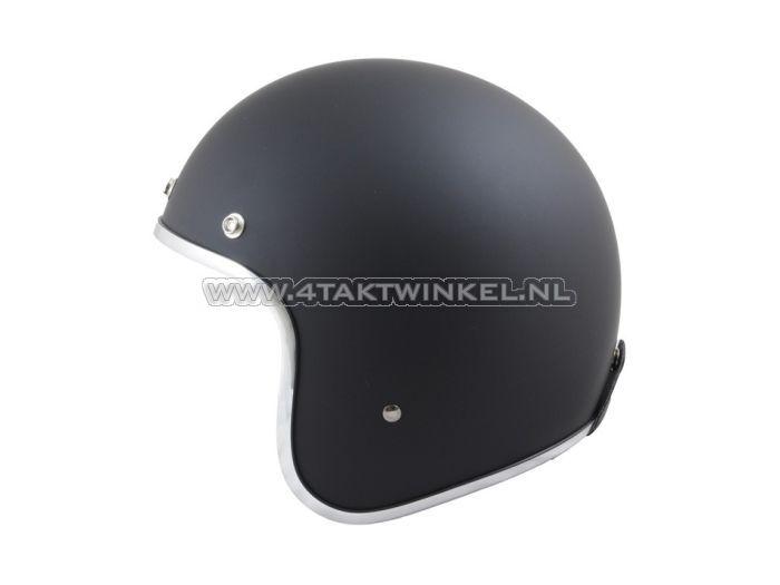 Helm-MT,-Le-Mans,-Mat-Zwart,-Maten-XS-t/m-XXL