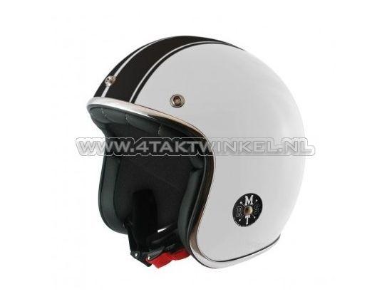 Helm-MT,-Le-Mans-Speed-Wit,-Maten-S-t/m-XL