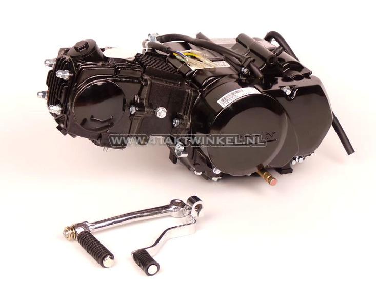 Motorblok,--85cc,-handkoppeling,-Lifan,-4-bak,-zwart
