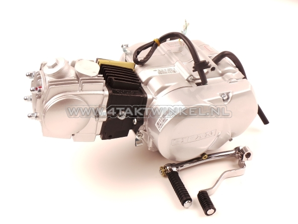 Motorblok,-107cc,-semi-automaat,-Lifan,-4-bak,-zilver
