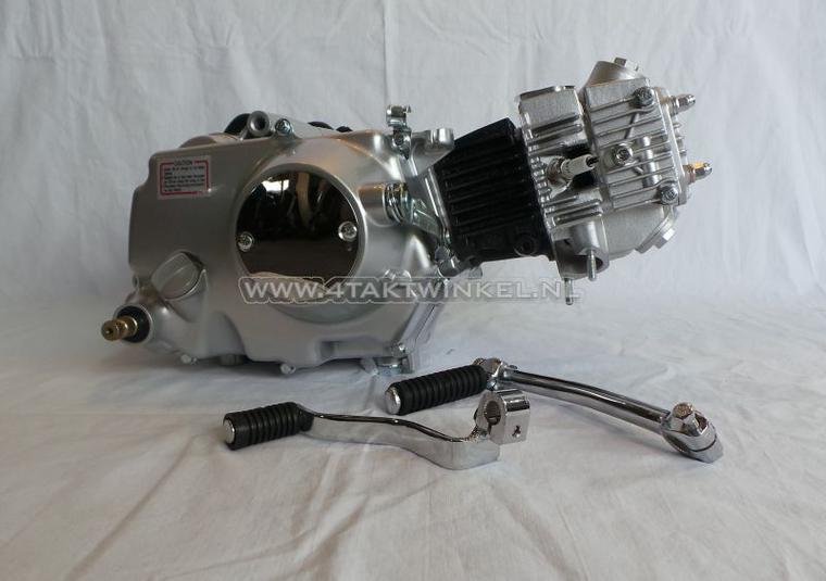 Motorblok,--70cc,-handkoppeling,-Lifan,-4-bak,-zilver