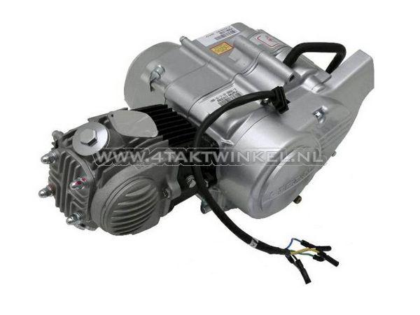 Motorblok,--50cc,-semi-automaat,-Lifan,-4-bak,-zilver