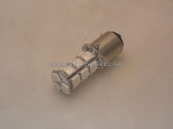 Lamp-achter-duplo-12v-21-5-watt-vervanger-rood-LED,-type-2-BAY15D