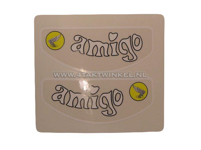 Sticker-Amigo-frame-buis,-set