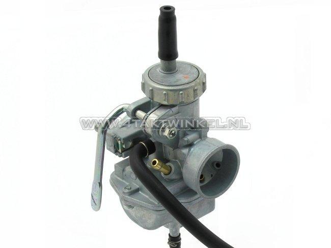 Carburateur-SS50,-CB50,-16mm,-brede-flens,-Keihin,-origineel-Honda