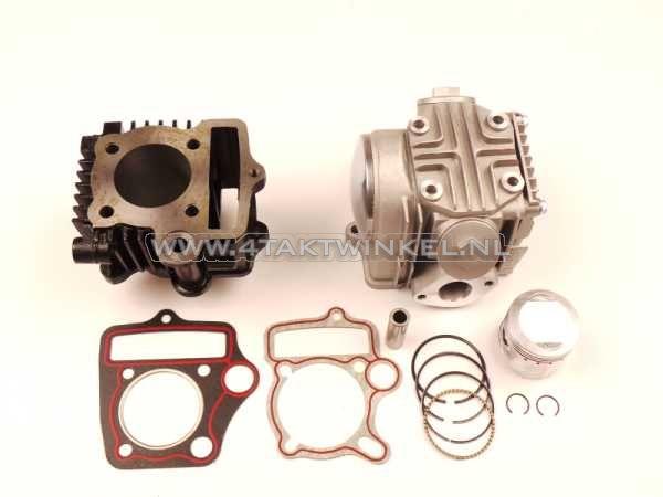 Cilinderset,-met-zuiger-&-pakking-&-cilinderkop-70cc,-AGM,-Skyteam,-Honda-NT