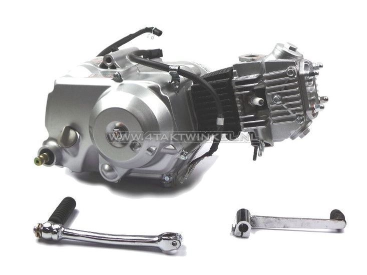 Motorblok,--70cc,-semi-automaat,-Lifan,-4-bak,-zilver