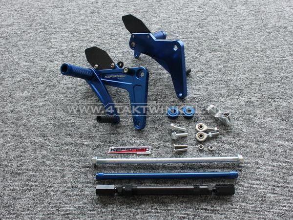 Backstep-set,-C50,-C70,-C90,-streetcub,-Kepspeed,-blauw