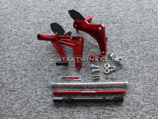 Backstep-set,-C50,-C70,-C90,-streetcub,-Kepspeed,-rood