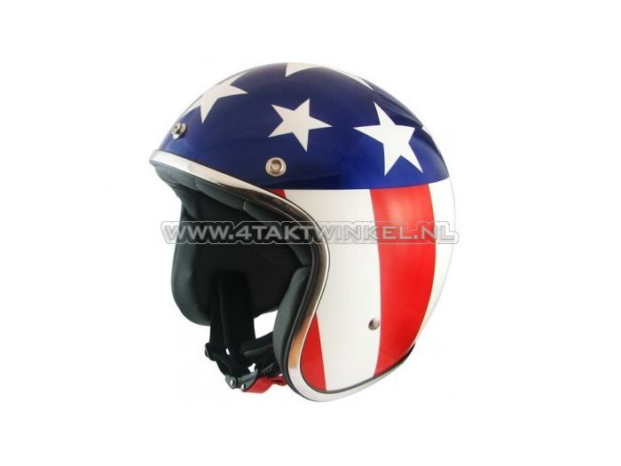 """Helm-MT,-Le-Mans-""""Flag""""-America,-Maten-S-t/m-XL"""