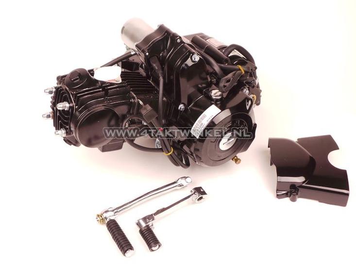 Motorblok,--50cc,-handkoppeling,-Lifan,-4-bak,-startmotor-boven