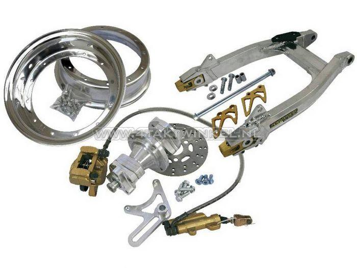 Achterbrug-Monkey-aluminium,-Kepspeed,-breed,-ombouwset