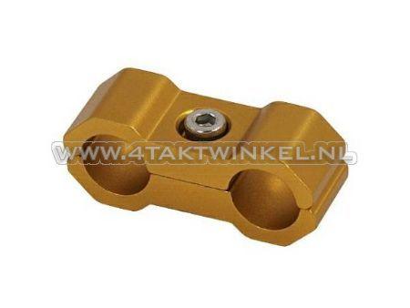 Olie-slang,-binder,-kepspeed,-goud