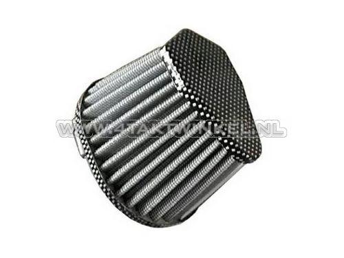 Powerfilter-35mm,-recht,-ovaal,-carbon-look