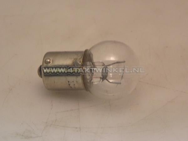 Lamp-enkel-12v-15-watt-middelgroot-bolletje-BA15-S