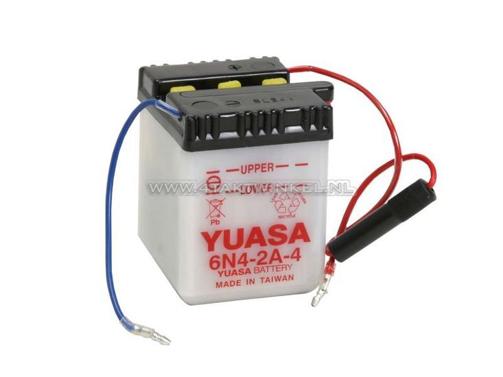 Accu-6-volt-4-ampere,-C50,-CB50,-zuur-accu,-Yuasa