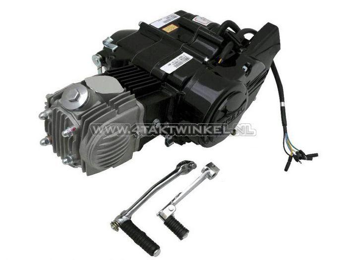 Motorblok,--50cc,-handkoppeling,-Lifan,-4-bak,-zwart