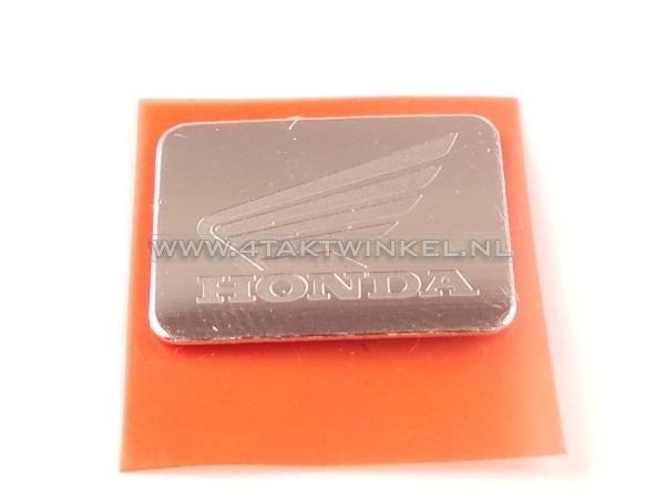 Embleem-Dax-kroonplaat,-origineel-Honda