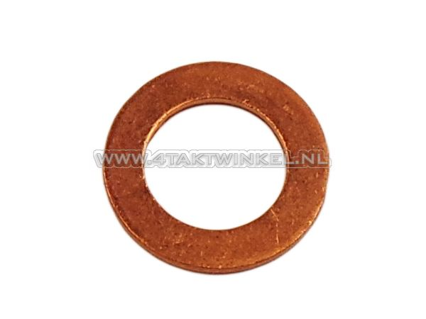 Ring-12mm,-koper-olie-aftap-plug