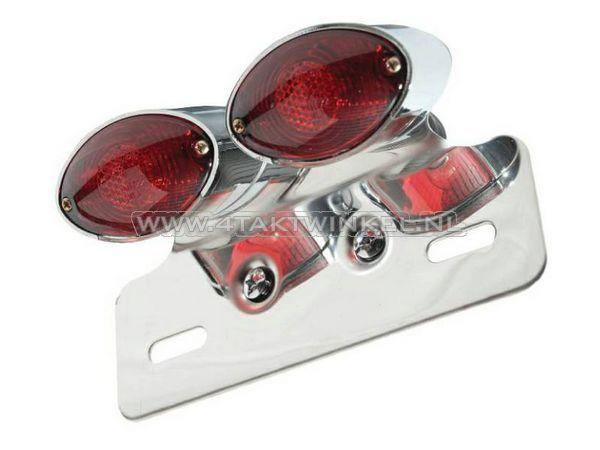 Achterlicht-cateye-dubbel,-rood-glas