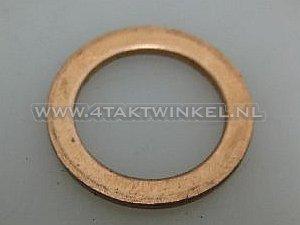 Pakking-los,-ring-distributie-plug-14mm-koper