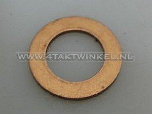 Pakking-los,-ring-olie-aftap-plug-12mm-koper